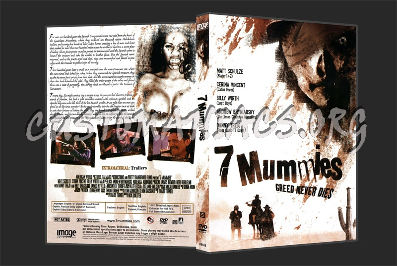 7 Mummies dvd cover