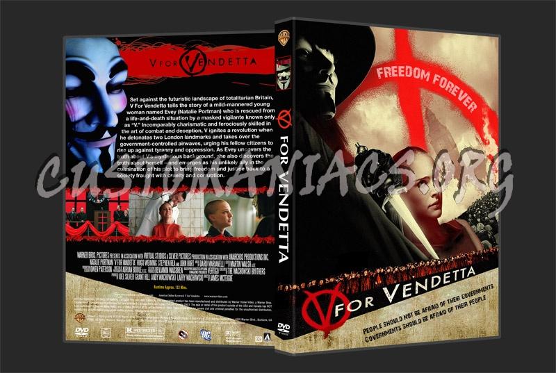 V for Vendetta dvd cover