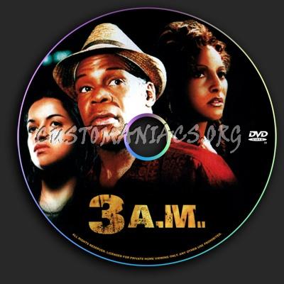 3 am dvd label