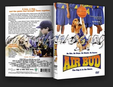 Air Bud dvd cover