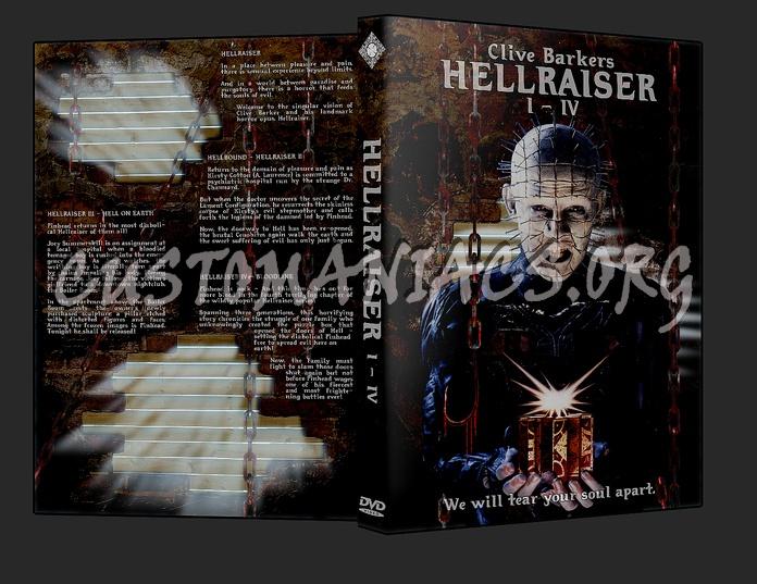 HellRaiser Collection 1 - 4 dvd cover