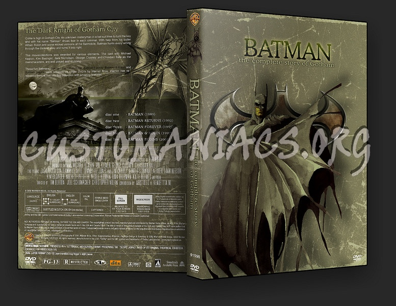 The Batman Collection dvd cover