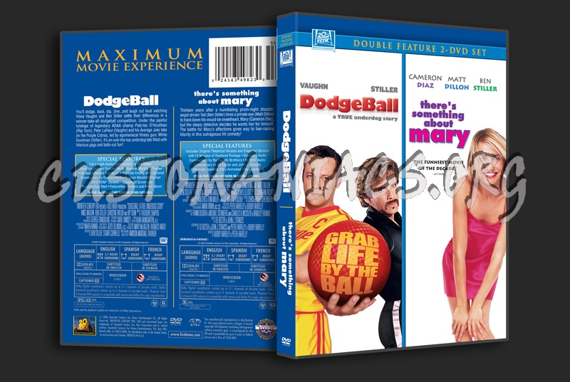 Dodgeball / There's Something About Mary dvd cover