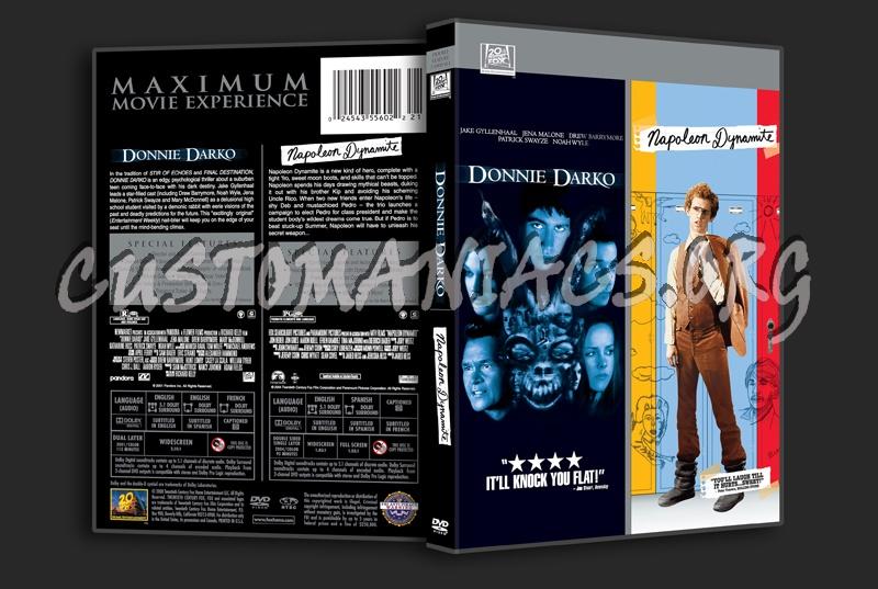 Donnie Darko / Napoleon Dynamite dvd cover