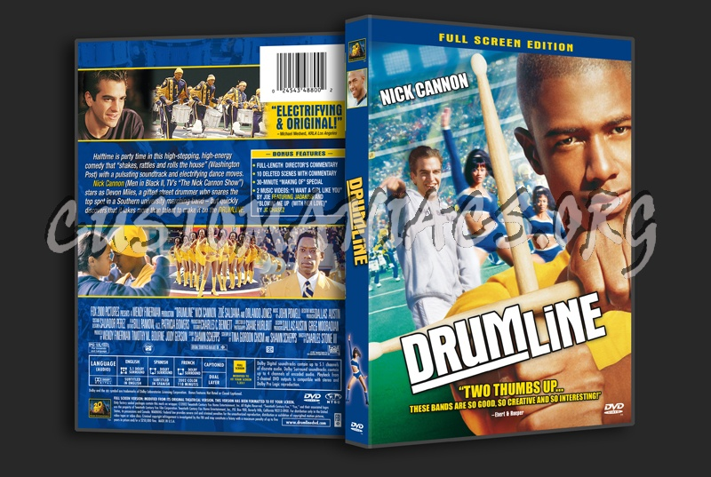 Drumline dvd cover