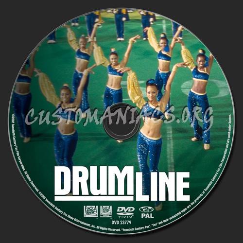 Drumline dvd label