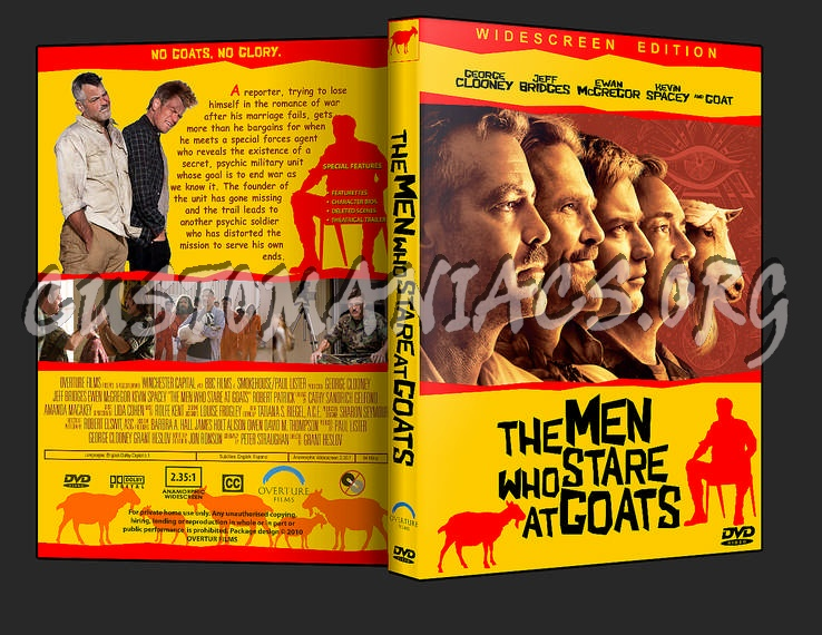 The Men Who Stare At Goats Dvd Cover