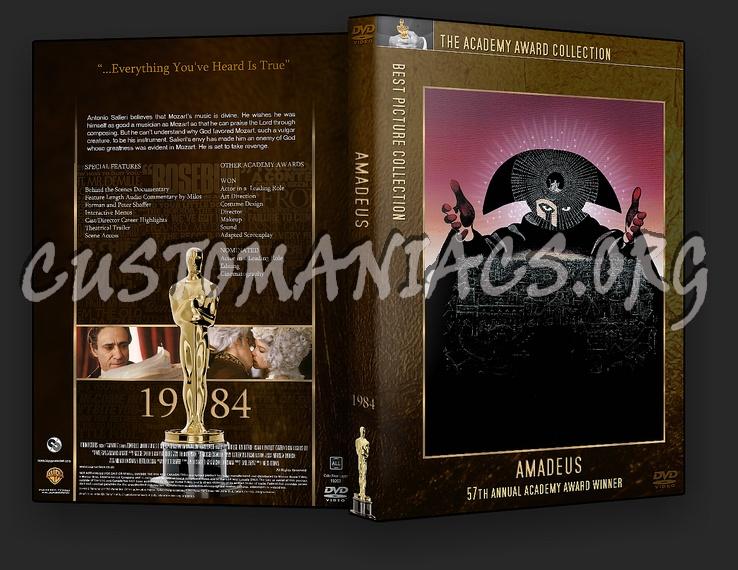 Amadeus - Academy Awards Collection dvd cover