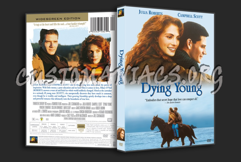 Dying Young dvd cover