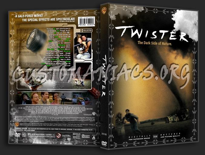 Twister dvd cover