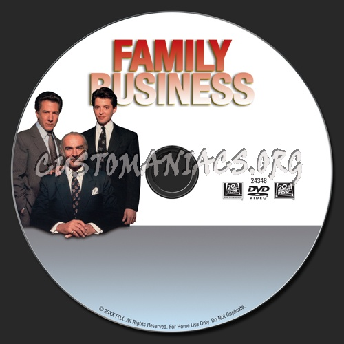 Family Business dvd label