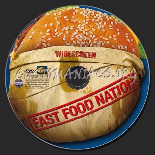 Fast Food Nation dvd label