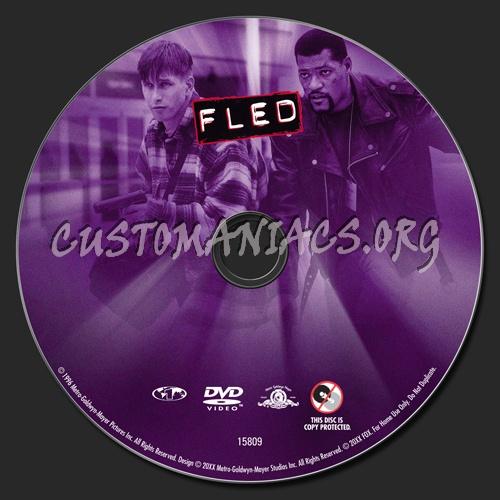 Fled dvd label