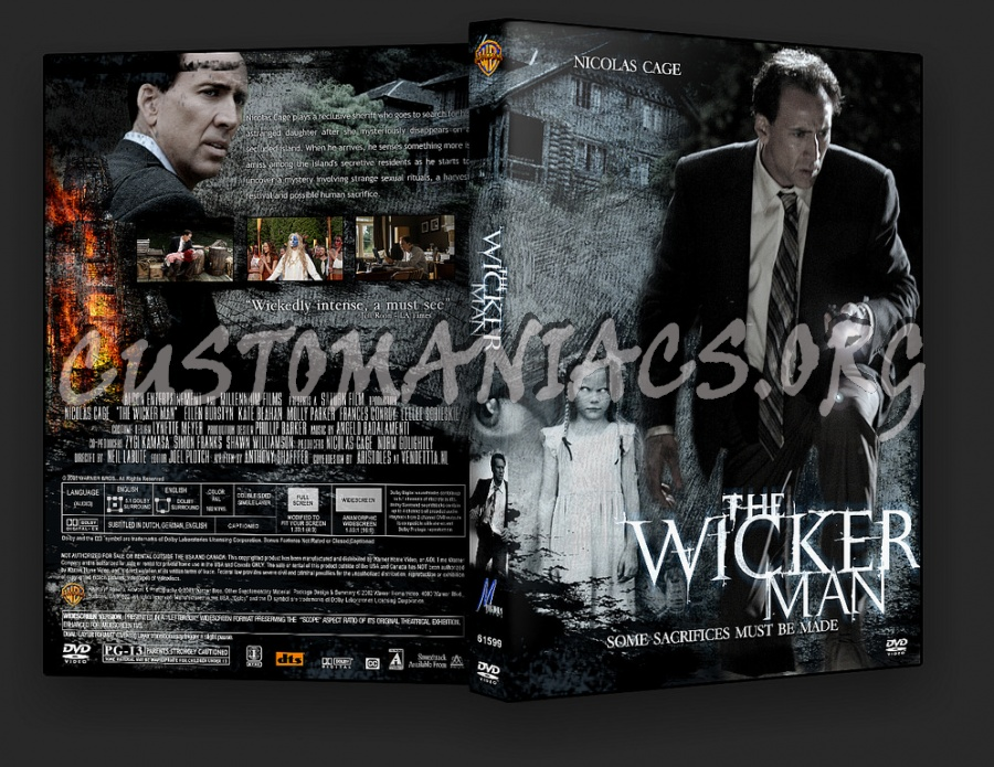 The Wicker Man 2006 dvd cover
