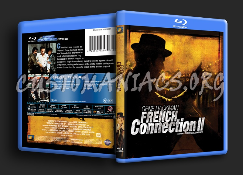 French Connection 2 blu-ray cover