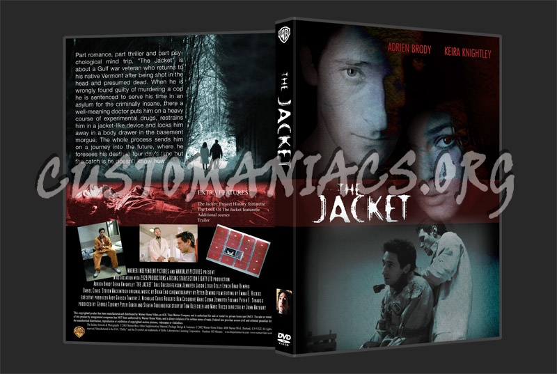 The Jacket dvd cover