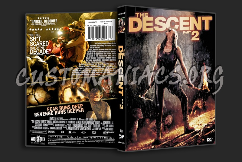 The Descent: Part 2 dvd cover