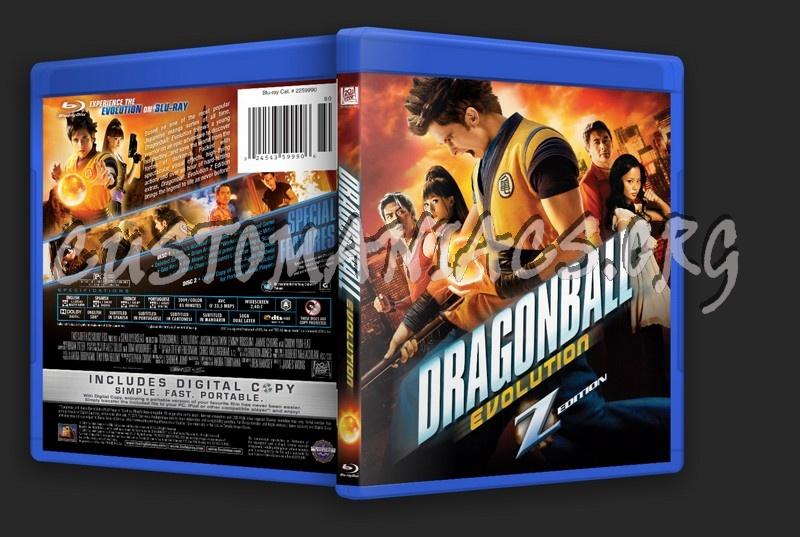 Dragonball Evolution blu-ray cover