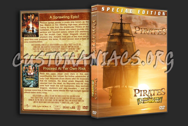 Pirates / Pirates II: Stagnetti's Revenge Double Feature dvd cover