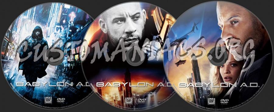 Babylon AD dvd label