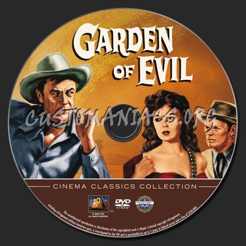 Garden of Evil dvd label