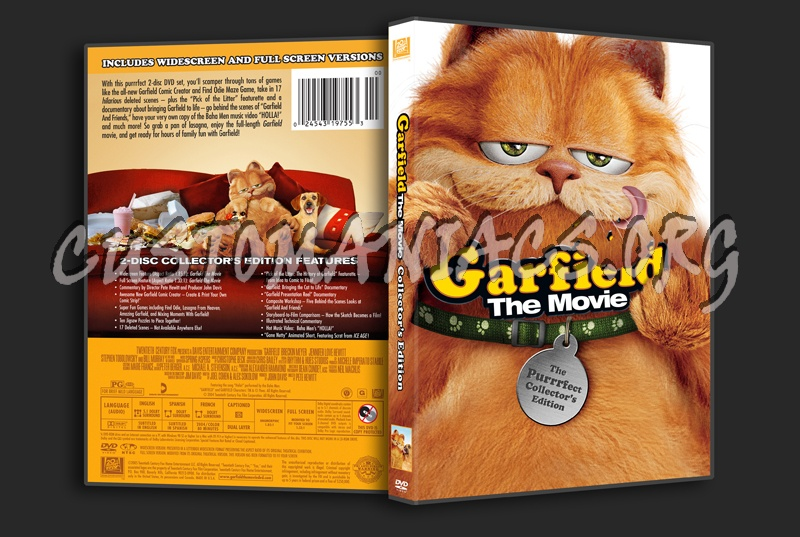 Garfield The Movie Dvd Cover Dvd Covers Labels By Customaniacs Id 99398 Free Download Highres Dvd Cover