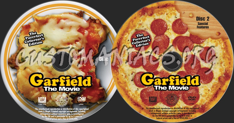 Garfield The Movie Dvd Label Dvd Covers Labels By Customaniacs Id 99400 Free Download Highres Dvd Label