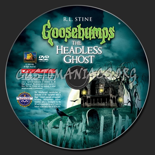 Goosebumps - The Headless Ghost #37 1st edition (USA)