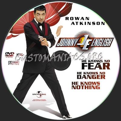 Johnny English dvd label