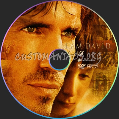 I Am David dvd label