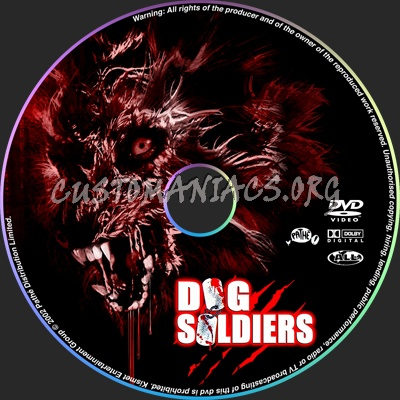 Dog Soldiers dvd label