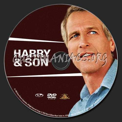 Harry & Son dvd label