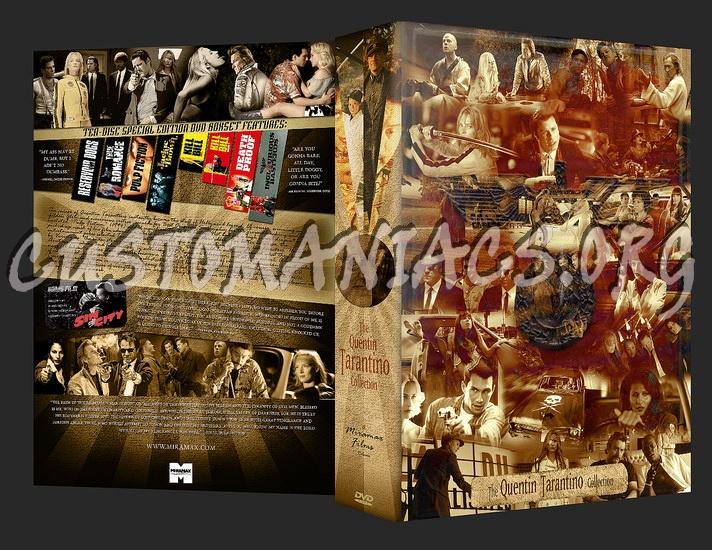 The Quentin Tarantino Collection dvd cover