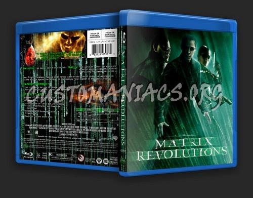 The Matrix Revolutions blu-ray cover
