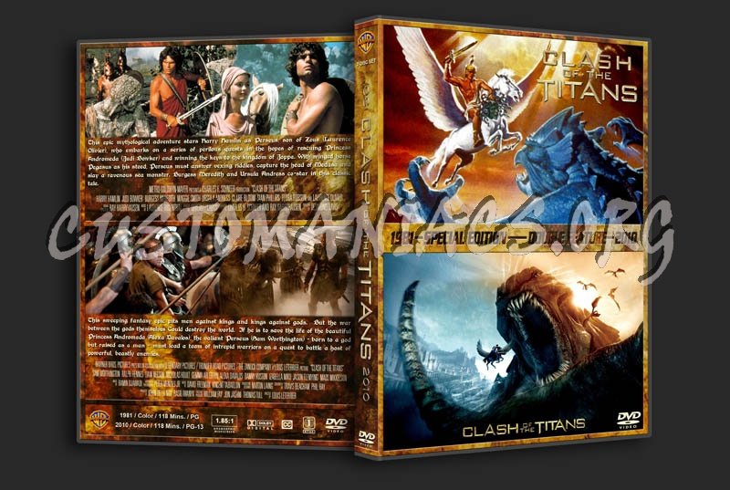 Clash of the Titans Double Feature dvd cover