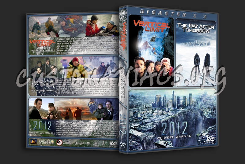 Disaster Triple Feature dvd cover