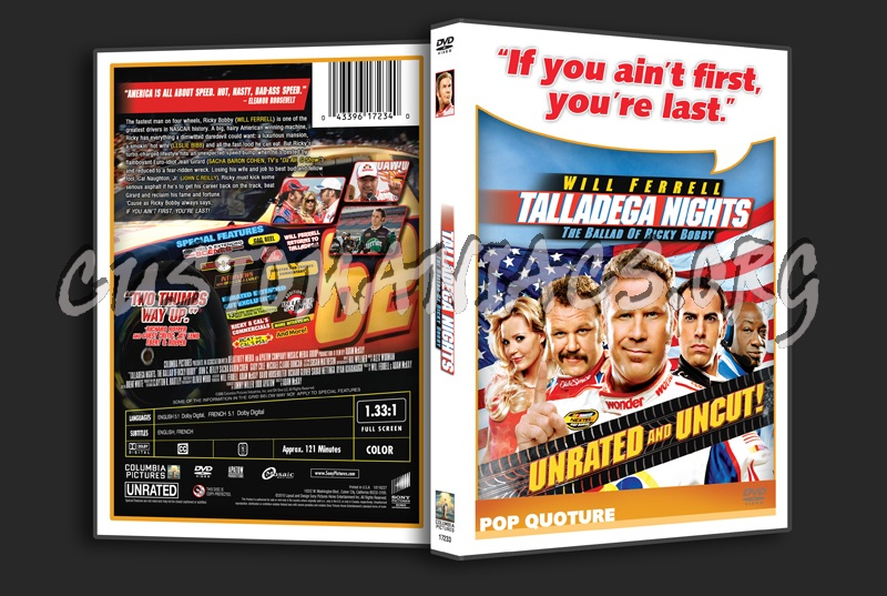 character evaluation talladega nights the ballad of