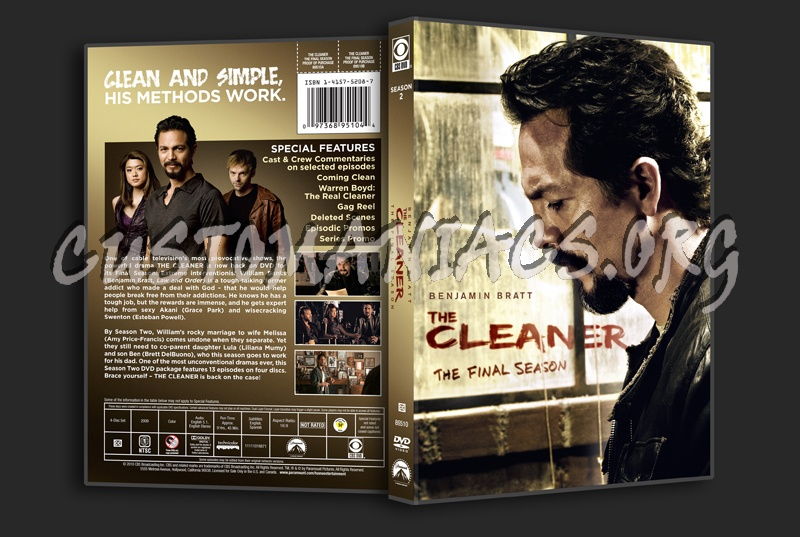 The Cleaner Season 2 dvd cover