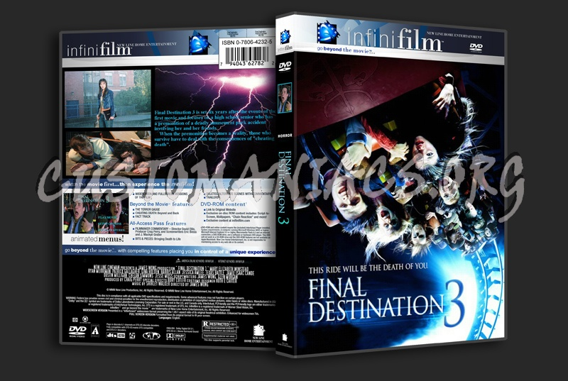 Final Destination 3 dvd cover
