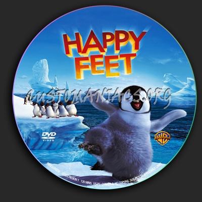 Happy Feet dvd label