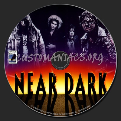 Near Dark dvd label
