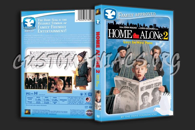 Home Alone 2 dvd cover