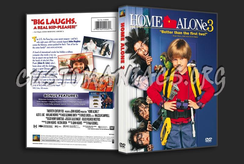 Home Alone 3 dvd cover