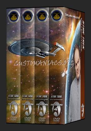 Star Trek Enterprise dvd cover