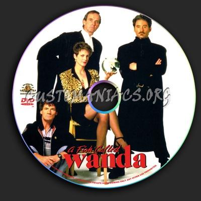 A Fish Called Wanda dvd label