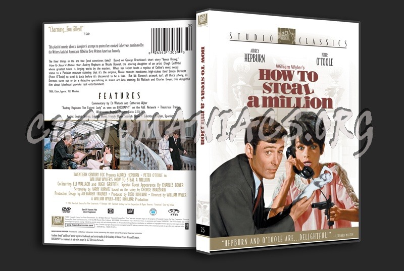 How to Steal a Million dvd cover