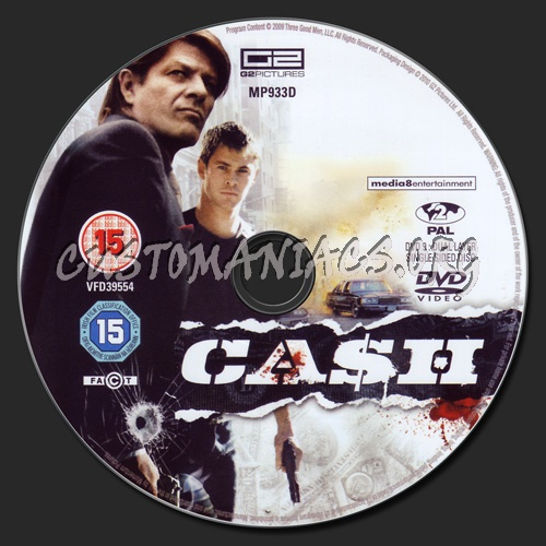 Cash (aka Ca$h) dvd label