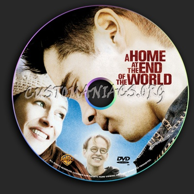 A Home at the End of the World dvd label