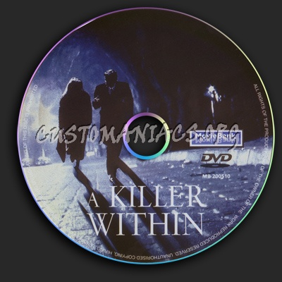 A Killer Within dvd label