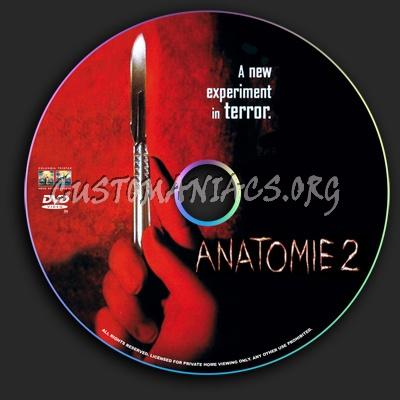 Anatomie 2 dvd label